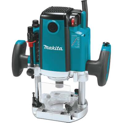 Makita 3-1/4 HP/15A 9000 to 22,000 rpm Plunge Router