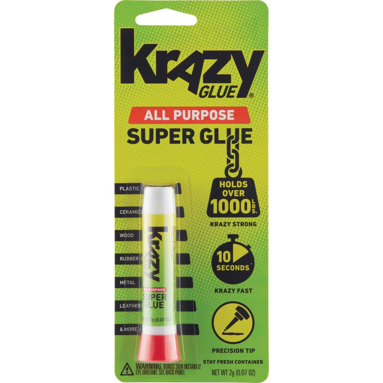 Krazy Glue 0.07 Oz. Liquid All-Purpose Super Glue Image 1
