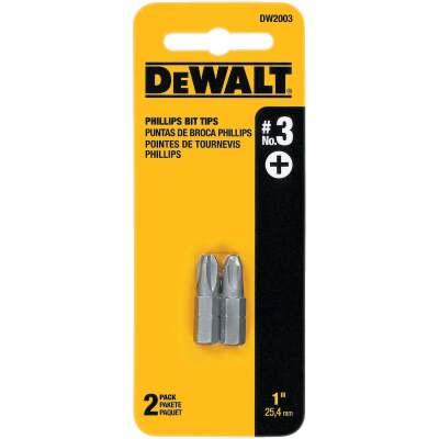 DeWalt Phillips #3 1 In. Insert Screwdriver Bit