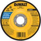 DeWalt HP Type 27 4-1 In. x 27/4 In. x 7/8 In. Stainless Grinding Cut-Off Wheel Image 1