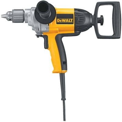 DeWalt 1/2 In. 9-Amp Keyed Electric Drill with Spade Handle