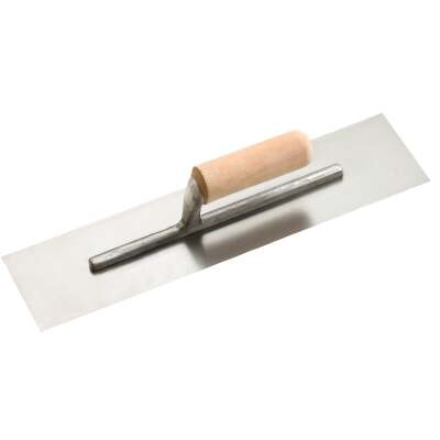 Do it 4 In. x 16 In. Finishing Trowel with Basswood Handle
