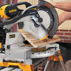 DeWalt 12 In. 15-Amp Dual-Bevel Compound Miter Saw Image 2