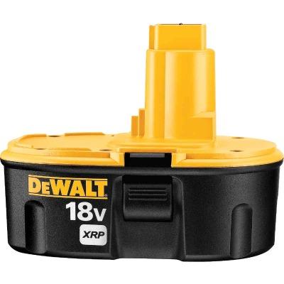 DeWalt 18 Volt XRP Nickel-Cadmium 2.4 Ah Tool Battery