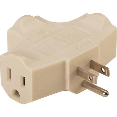 Do it Beige 15A 3-Outlet Tap