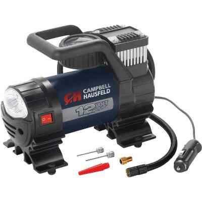 Campbell Hausfeld 12-Volt 150 psi Electric Inflator with Light
