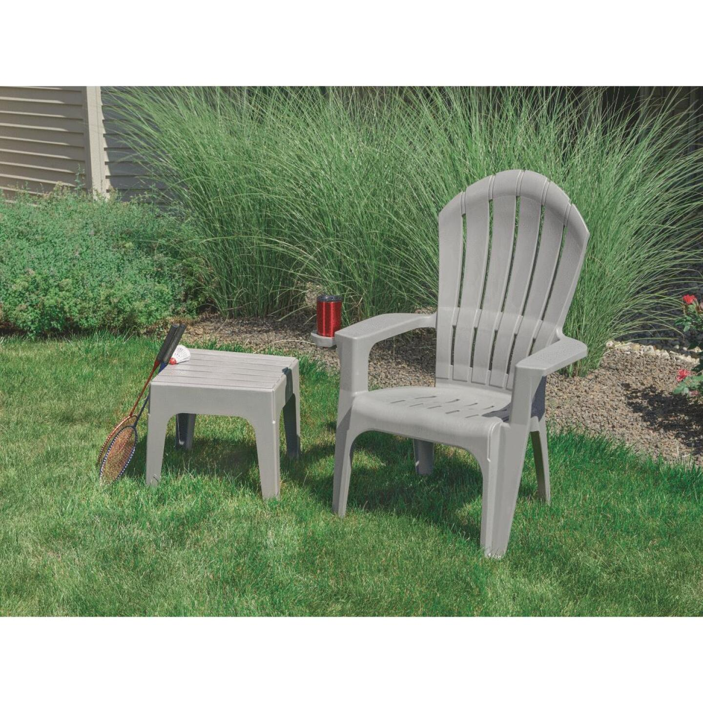 Adams Big Easy Gray Resin Adirondack Chair Image 6